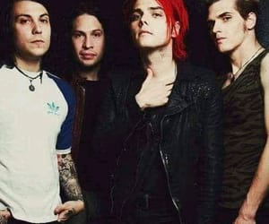 era, frank iero, and mcr image