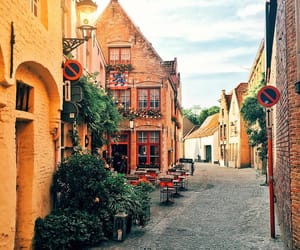 travel, belgium, and place image