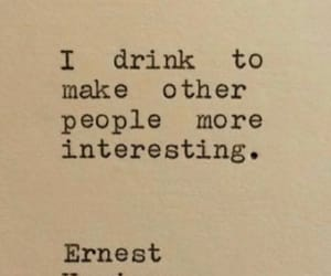 drink, people, and quote image