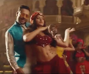 bollywood, dance, and fnaire image