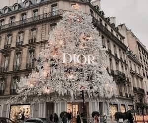 dior, christmas, and fashion image