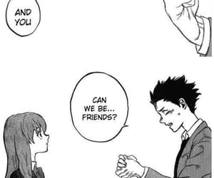 manga, anime, and koe no katachi image
