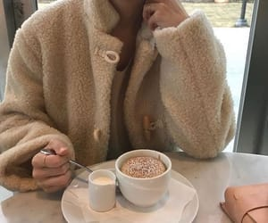 aesthetic, fashion, and coffee image