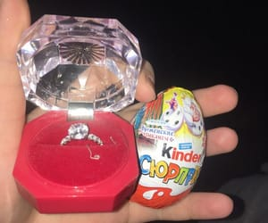 chocolate, kinder, and marry me image