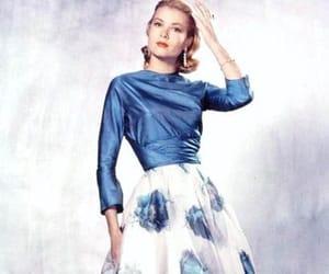 blue, dress, and grace image