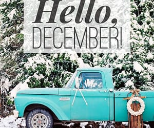 december, hello, and holidays image