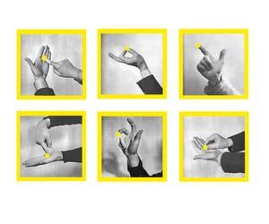 art and yellow image