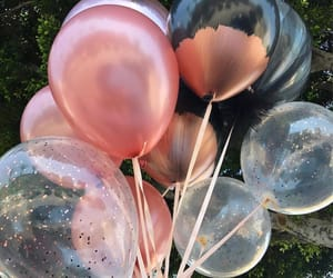 aesthetic, balloons, and fashion image