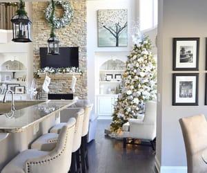 christmas, interior, and cozy image
