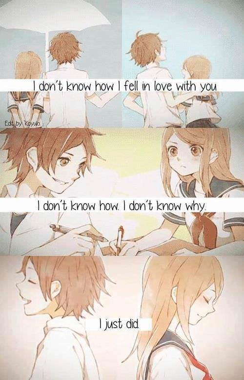 Image about quotes in Anime Romance 💖💖💖 by ~ Mira ~ ♥️