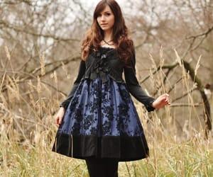 alternative, alternative style, and gothic fashion image