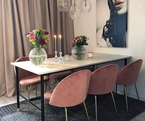 chairs, chic, and decor image