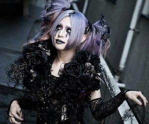 alternative, dark, and makeup image
