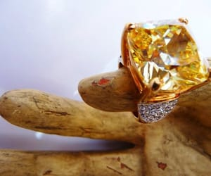 etsy, light yellow, and rings image