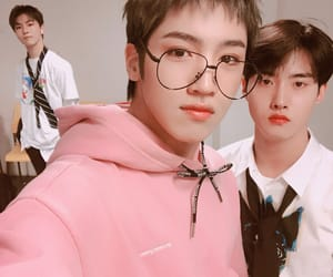 pentagon, changgu, and jung wooseok image