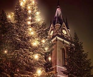 light, christmas, and church image