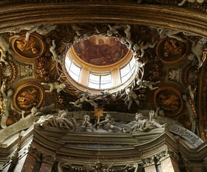 architecture, art, and ceiling image