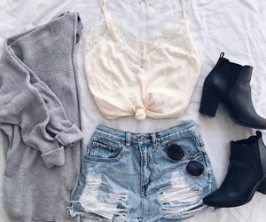 beautiful, outfit, and cute image