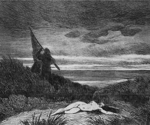 dark, etching, and felicien rops image