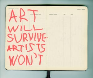 art, quotes, and artist image