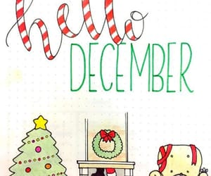 december, cold, and welcome image