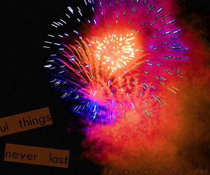 beautiful, typography, and fireworks image