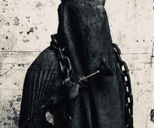 black, islam, and burqa image
