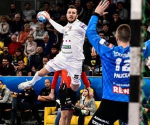 handball, handballer, and strlek image