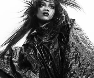 rihanna, beautiful, and black and white image