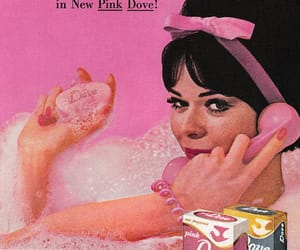 50s, girl, and pink image