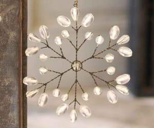 christmas, decoration, and snowflake image