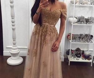 prom dress lace, prom dress for cheap, and prom dress long image