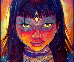 sacred, annelie solis art, and spiritual image