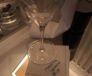 glass and napkin image