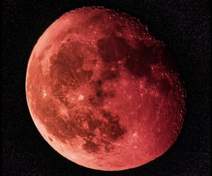 photography, stars, and blood moon image