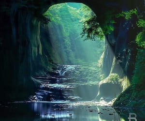 nature, travel, and japan image