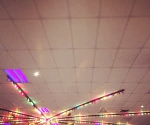 ceiling, disco ball, and fun image