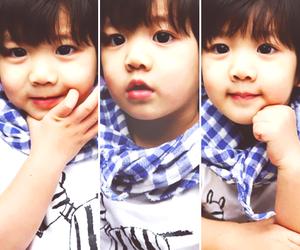 baby, korean, and yoogeun image