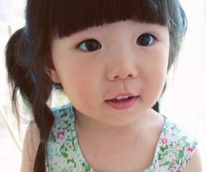 cute, asian, and baby image