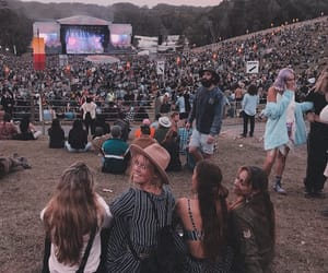 festival, hippie, and music image