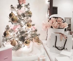 christmas, girly, and chanel image