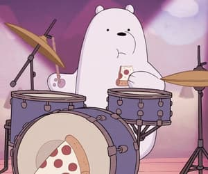 bears, cartoon, and we bare bears image