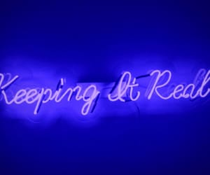 blue, neon, and neonsigns image