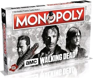 monopoly, collectables, and walking dead amc edition image