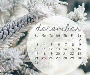 calendar, christmas, and cold image