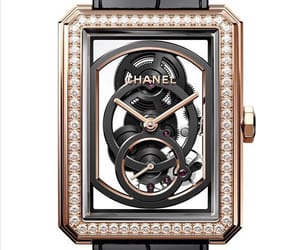 chanel, watch, and boyfriend skeleton image
