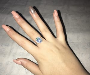blue, hand, and nails image