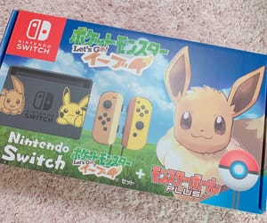 eevee, game, and lets go image