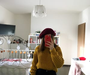 autumn, yellow, and falloutfit image