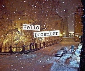 cold, december, and hello image